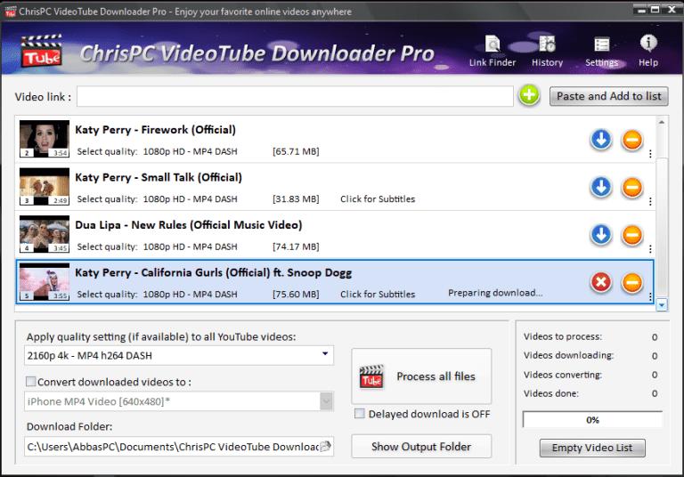 ChrisPC-VideoTube-Downloader-Pro-Serial-Key